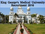 Kgmu Lucknow Is Hiring For Research Officer And Other Posts