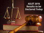Ailet Results 2016 To Be Declared Today