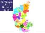 Karnataka Ii Puc Results 2016 District Wise Pass Percentage