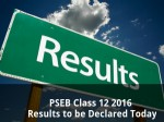 Pseb Class 12 2016 Results To Be Declared Tomorrow