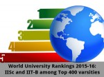 World University Rankings 2015 16 Iisc And Iit B Among Top