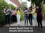 Assam Board Class 12 Results 2016 Declared