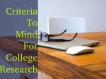 Important Criteria To Mind While Researching Colleges Overseas