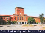 Du Admissions 2016 Registration Ends Nearly 3 Lakh Applications