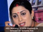 Hrd Ministry 32 Dth Channels To Telecast Iit Lectures Live