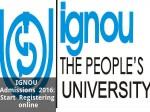 Ignou Admissions 2016 Start Registering Online