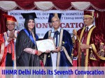 Iihmr Delhi Holds Its Seventh Convocation