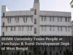 Iihmr Univ Conducts 2nd Training Programme Departments Panchayat Rural