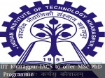 Iit Kharagpur Iacs Offer Msc Phd Chemical Molecular Biolog