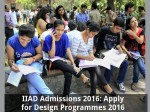 Iiad Admissions 2016 Apply For Design Programmes