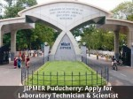 Jipmer Puducherry Is Hiring Laboratory Technician Scientist