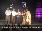 Et Best School Brand Award 2016 For Mussoorie International School