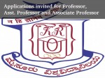 Apply Various Professor Posts At University Mysore