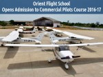 Orient Flight School Opens Admission To Commercial Pilots Course