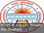 Panjab University Pg Llb Cet Answer Key Available