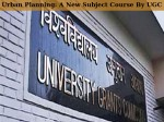 Ugc Asks Colleges Universities To Include Urban Planning In Curriculum