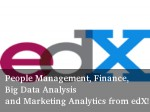Learn Big Data Analysis Other Online Courses With Edx