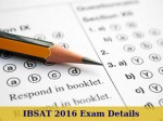 Ibsat 2016 Exam Dates And Application Details