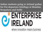 Indian Students Going Ireland Gather Pre Departure Briefings