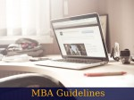 Mba Guidelines 6 Steps To Mastering The Art Of Mba