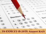 Ts Eamcet Ii 2016 Answer Keys Released