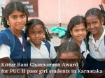 Kittur Rani Channamma Award Puc Ii Pass Girl Students In Karnataka