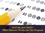 Nat For Engineering Admissions Surfaces After Neet