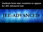 Students From 9 Countries Can Directly Appear Jee Advanced