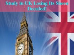 Find Why Uk Is Losing Its Popularity Among Indian Students
