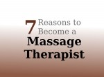 Fun Reasons To Become A Massage Therapist You Must Check Out