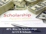 Us B Schools Increase Scholarships By 40 To Attracts Indian Students