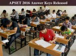 Apset 2016 Answer Keys Released Sep 25 Last Date To File Objections