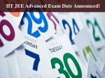 Iit Madras Announces Jee Advanced 2017 Exam Date As May