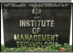 Imt Ghaziabad Admission Notification