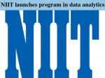 Niit Launches Program In Data Analytics Big Data With Hadoop