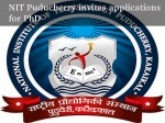 Nit Puducherry Invites Applications Ph D