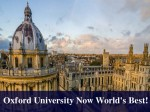 Oxford University Now Worlds Best Knocks Down Caltech To 2nd Place