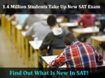 Million Students Take Up New Sat Exam Find What Is New In Sat