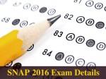 Snap 2016 Register Before November 22 Check Details Here