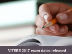 Viteee 2017 Exam Dates Released