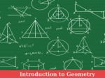 Introduction Geometry An Online Course Edx