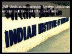 Iits Decide To Increase The Intake Of Foreign Students