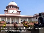Several Foreign Medical Students In Chaos After Sc Verdict On Neet