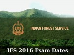 Upsc Releases Exam Dates For Ifs Exam
