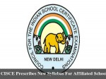 Cisce Prescribes New Syllabus Affiliated Schools