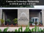 Iimb Offers Course On Technology Partnership
