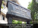 Vacant Seats And Waiting Puts Off Law Candidates Mumbai