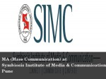 Apply For Ma Mass Communication At Simc Pune