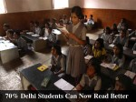 Delhi Students Can Now Read Better