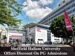 Sheffield Hallam University Invites Applications For Pg Admissions